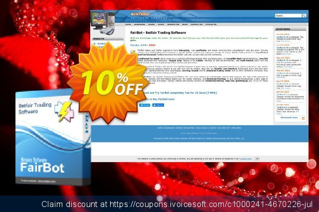 FairBot Italy (6 months access) discount 10% OFF, 2020 Thanksgiving offering sales