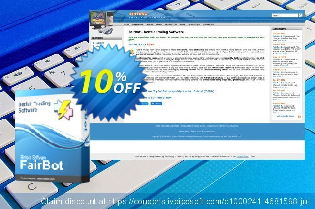 FairBot Spain (1 month access) discount 10% OFF, 2019 College Student deals offering discount