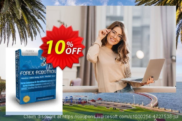 Forex Robotron Standard Package discount 10% OFF, 2020 New Year's Weekend promotions