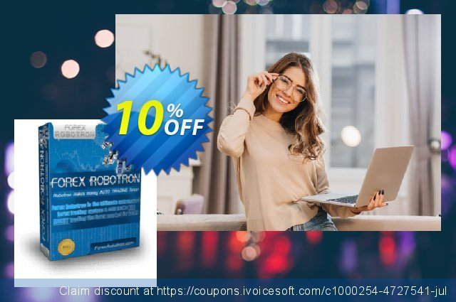 Forex Robotron Gold Package discount 10% OFF, 2020 New Year's Day offer
