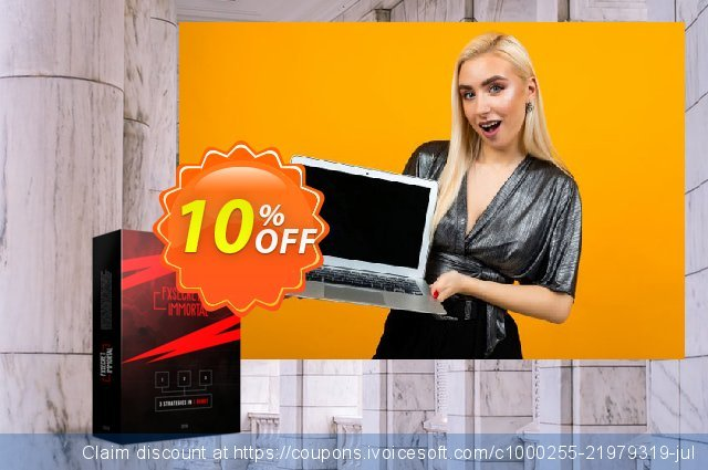 FXSecret Immortal discount 10% OFF, 2020 New Year's Weekend offering discount