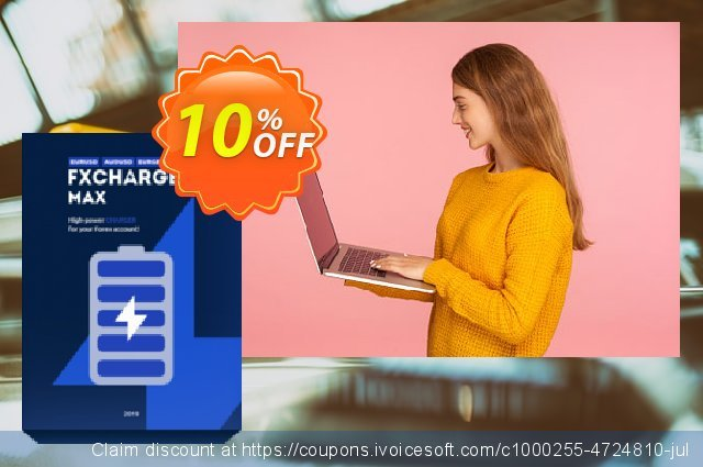 FXCharger MAX discount 10% OFF, 2020 January discount