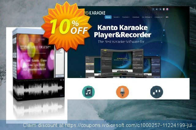 Lyric Video Creator Professional Version discount 10% OFF, 2020 Happy New Year deals