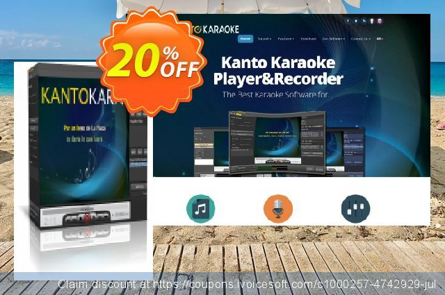 Kanto Player Professional discount 20% OFF, 2019 Back to School promo offering sales