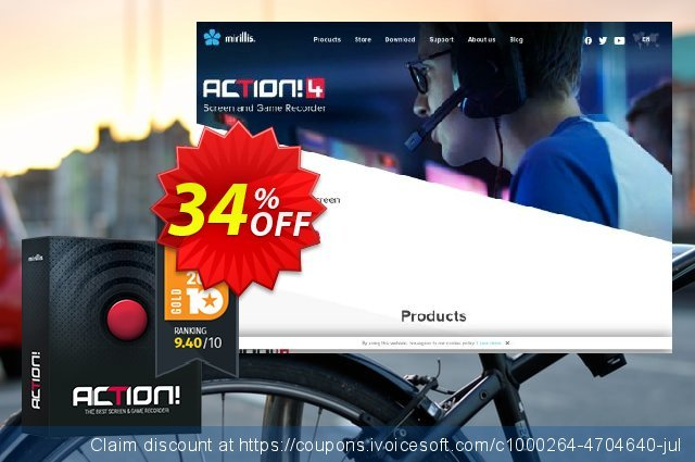 Action! - screen and game recorder discount 34% OFF, 2020 Back to School promo deals