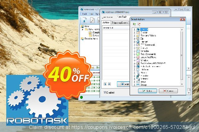 RoboTask (business license) discount 20% OFF, 2020 Back to School promo promo