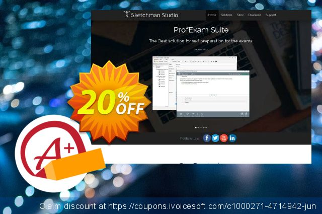 ProfExam Suite (Creator + Simulator) 令人难以置信的 产品销售 软件截图