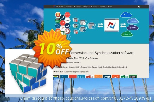 DBConvert for MSSQL and DB2 discount 10% OFF, 2020 July 4th discount