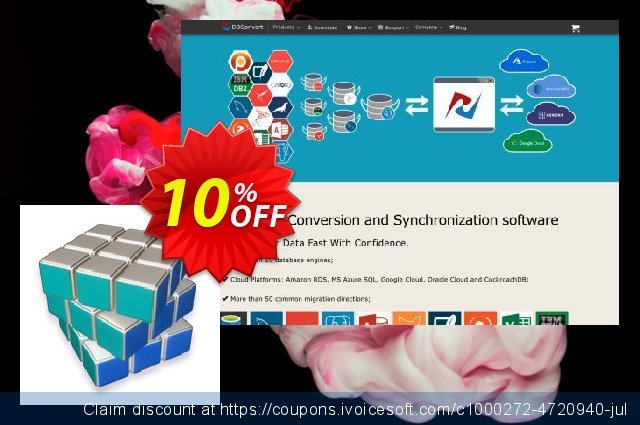 DBConvert for MySQL and DB2 discount 10% OFF, 2020 American Independence Day offering discount