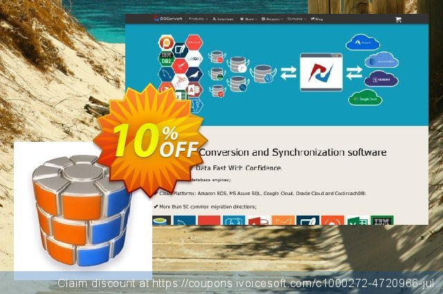 DBSync for MS SQL and PostgreSQL discount 10% OFF, 2020 Fourth of July offering sales