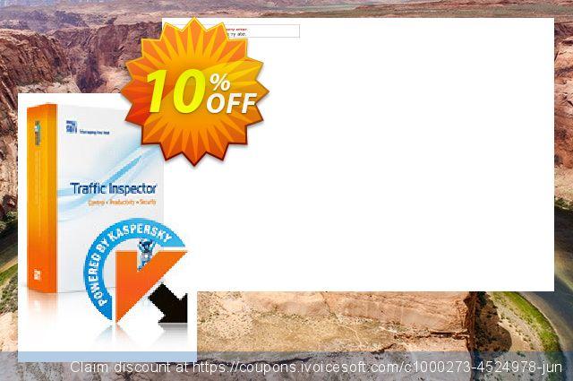 Traffic Inspector+Traffic Inspector Anti-Virus Gold 5 discount 10% OFF, 2020 Summer offering discount