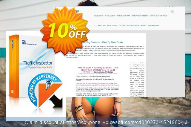 Traffic Inspector + Traffic Inspector Anti-Virus Gold 15 discount 10% OFF, 2020 Halloween offering sales