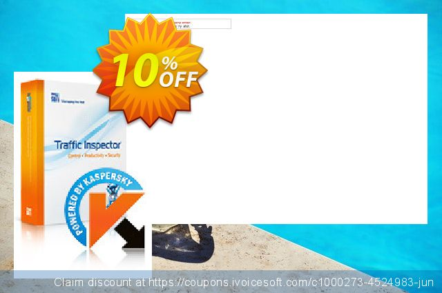 Traffic Inspector + Traffic Inspector Anti-Virus Gold 30 discount 10% OFF, 2020 Labour Day promo sales