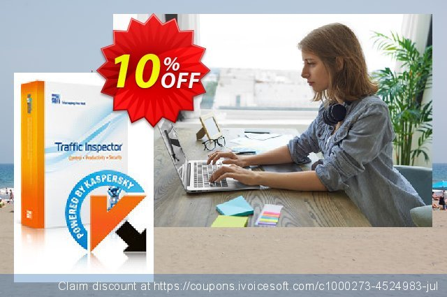 Traffic Inspector + Traffic Inspector Anti-Virus Gold 30 discount 10% OFF, 2020 Back to School offer offering sales