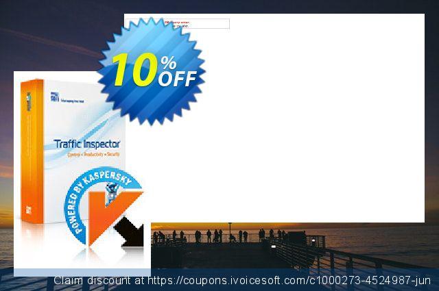 Traffic Inspector + Traffic Inspector Anti-Virus Gold 100 discount 10% OFF, 2019 Student deals offering sales