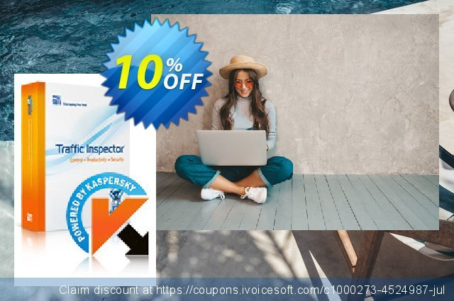 Traffic Inspector + Traffic Inspector Anti-Virus Gold 100 discount 10% OFF, 2020 Halloween offering sales