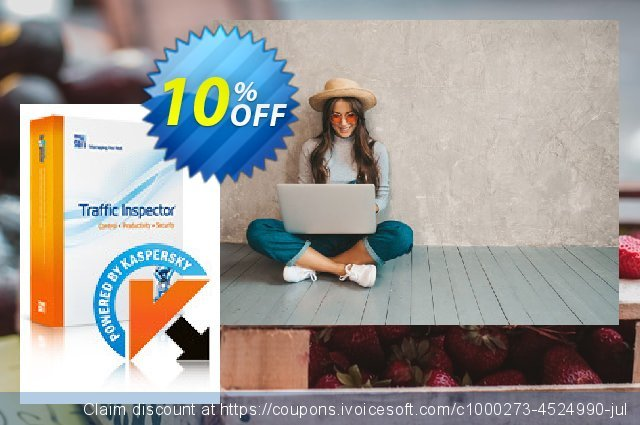 Traffic Inspector + Traffic Inspector AntiVirus Unlimited discount 10% OFF, 2020 Halloween sales