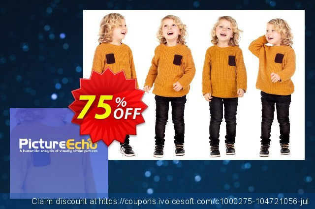 PictureEcho Family Pack (1 year) discount 30% OFF, 2021 Women Day offering sales