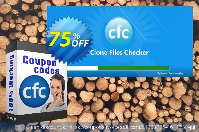 SORCIM Clone Files Checker (2 Years) discount 10% OFF, 2020 Back-to-School promotions promo