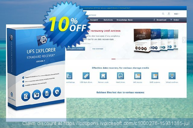 UFS Explorer Standard Recovery for macOS (Commercial License) discount 10% OFF, 2020 College Student deals offer