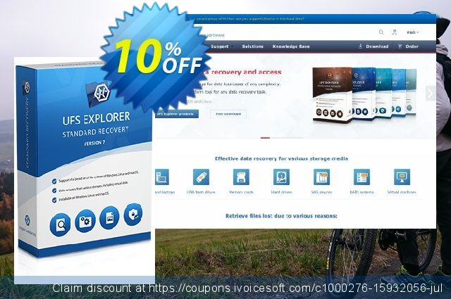 UFS Explorer Standard Recovery for Linux (Corporate License) discount 10% OFF, 2019 Thanksgiving offering sales