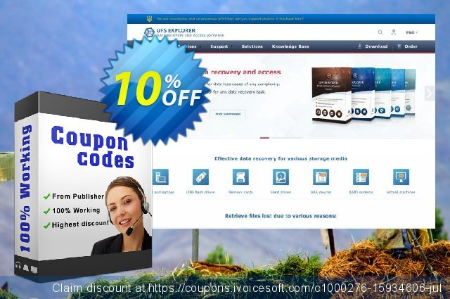 UFS Explorer RAID Recovery for macOS - Corporate License (1 year of updates) discount 10% OFF, 2020 Back to School deals offering sales