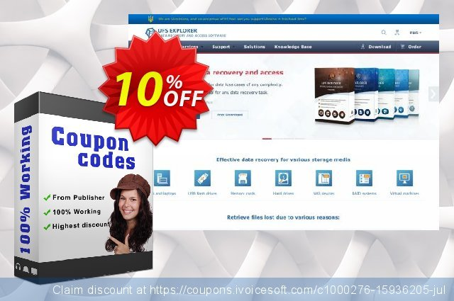 UFS Explorer Network RAID for Windows - Commercial License (1 year of updates) 惊人的 产品折扣 软件截图