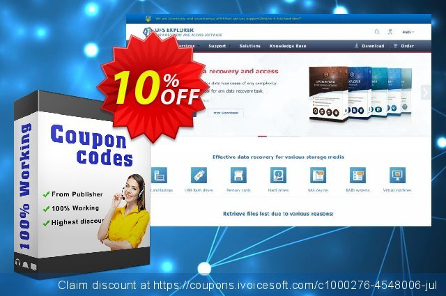 UFS Explorer Standard Recovery (version 5 for Windows) - Business License 了不起的 产品销售 软件截图
