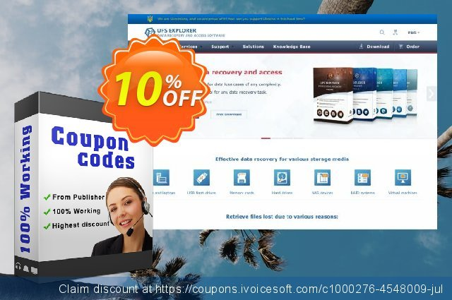 UFS Explorer Standard Recovery (version 5 for BSD) - Business License discount 10% OFF, 2020 Halloween discounts