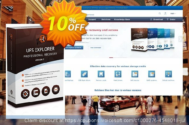 UFS Explorer Professional Recovery (version 5 for Linux) - Personal License 惊人的 折扣 软件截图