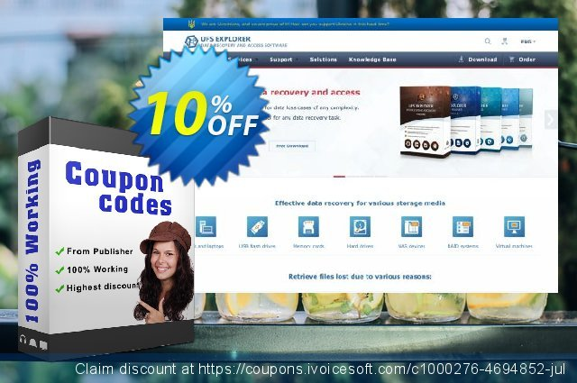Recovery Explorer Standard (for Windows) - Commercial License discount 10% OFF, 2020 New Year's Weekend sales