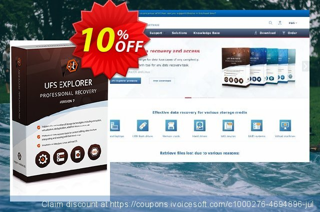 Recovery Explorer Professional (for Linux) - Commercial License 惊人的 产品折扣 软件截图
