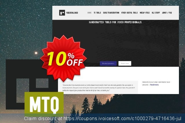 MP4 to QT Mac discount 10% OFF, 2020 Back to School Promos offering sales