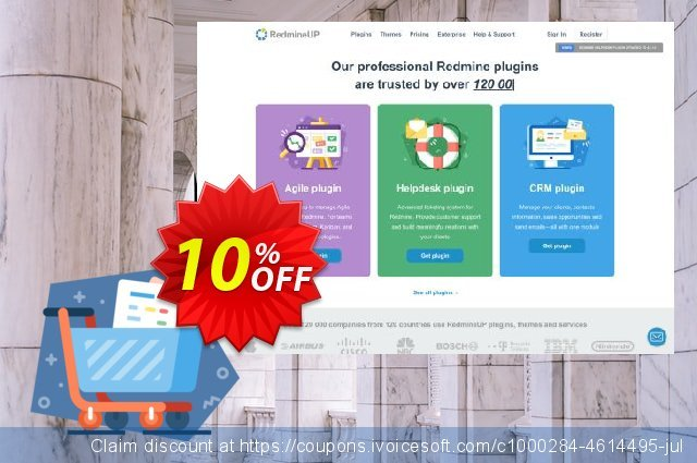 Redmine Products plugin discount 10% OFF, 2020 Back to School promotion promo