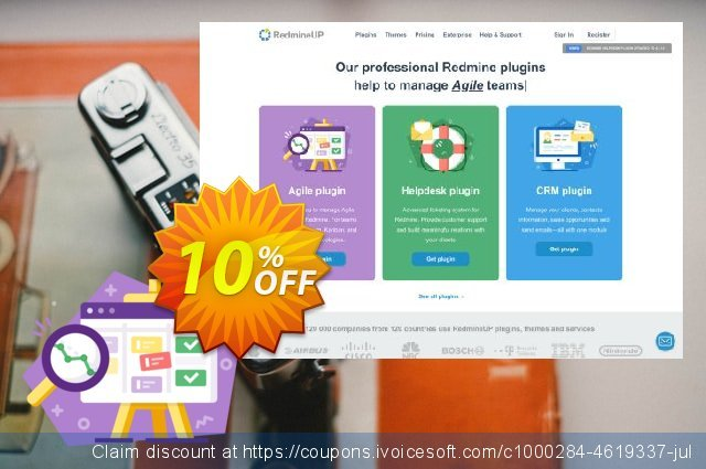 Redmine Agile plugin discount 10% OFF, 2020 Exclusive Teacher discount offering sales