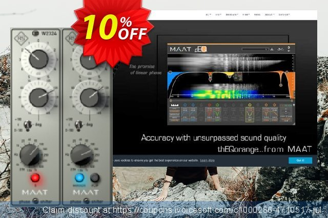 MAAT RSPhaseShifter Plug-In - Fast, Transparent Adjustment of Phase discount 10% OFF, 2020 Exclusive Student deals offering sales