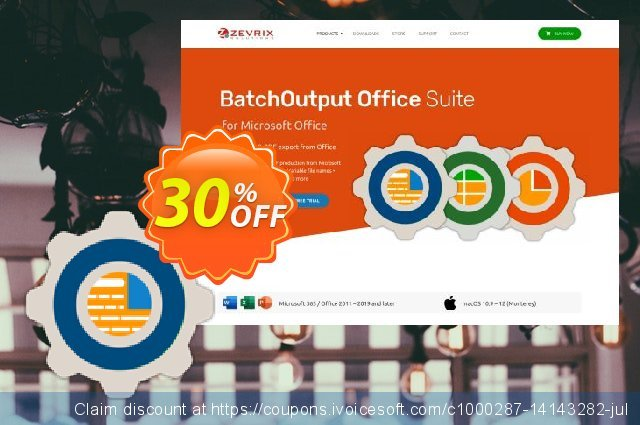 BatchOutput DOC discount 30% OFF, 2020 New Year offering sales