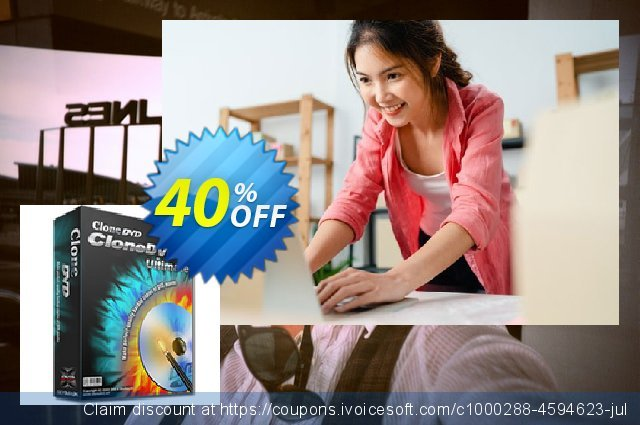 CloneDVD 7 Ultimate lifetime/1 PC discount 40% OFF, 2020 Halloween offering sales