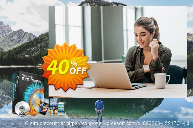 CloneDVD DVD Ripper 4 years/1 PC discount 40% OFF, 2020 Halloween offering sales