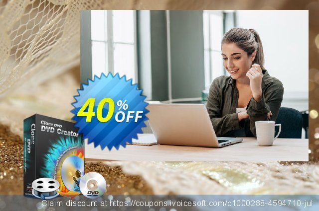 CloneDVD DVD Creator lifetime/1 PC discount 30% OFF, 2020 Teacher deals offering discount