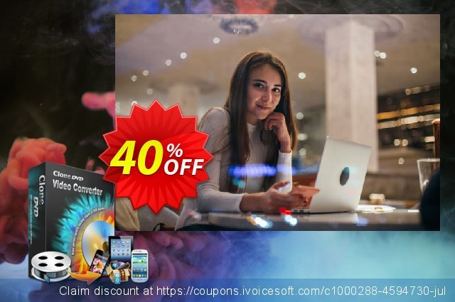 CloneDVD Video Converter 2 Years/1 PC  경이로운   할인  스크린 샷