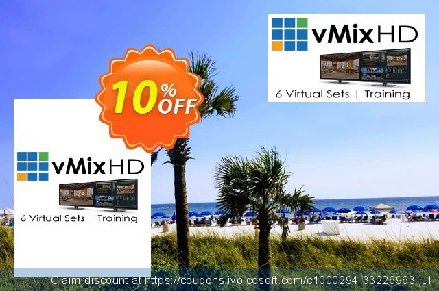 Virtual Set Pack One for vMix discount 15% OFF, 2021 New Year's Day promo sales