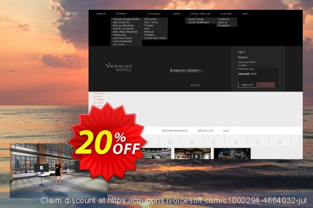 Virtualsetworks Package One For Wirecast Mac discount 20% OFF, 2021 April Fools' Day offering sales