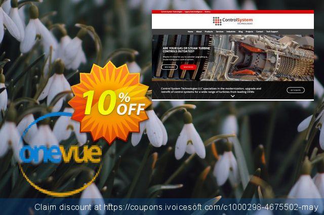 OneVue Upgrade 1.3 美妙的 产品销售 软件截图