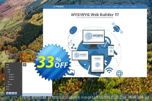 Expandable Panel Menu Extension for WYSIWYG Web Builder discount 33% OFF, 2020 Exclusive Teacher discount offering sales