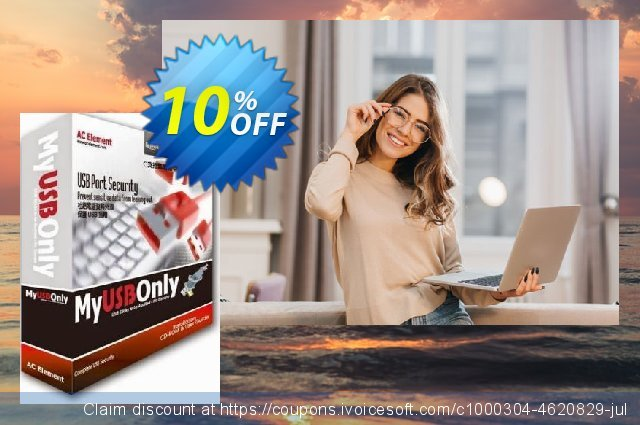 MyUSBOnly Cloud Edition - 1 Year discount 10% OFF, 2020 Back-to-School promotions offering sales