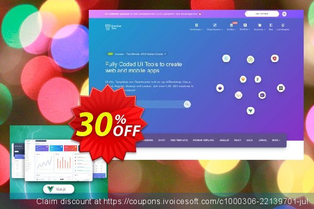 Vue Argon Dashboard PRO discount 90% OFF, 2020 Valentine Week deals