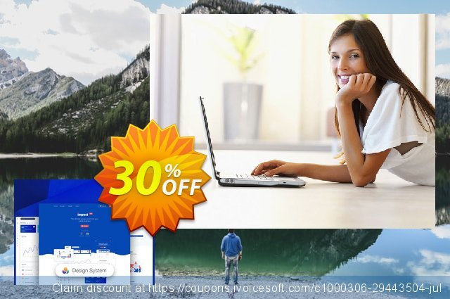 Impact Design System PRO discount 30% OFF, 2020 Back to School Promos offer