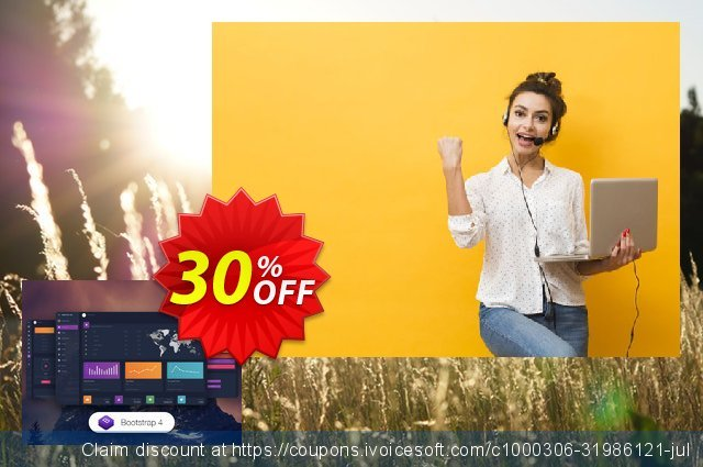 Material Dashboard Dark PRO discount 30% OFF, 2020 New Year's eve offering discount