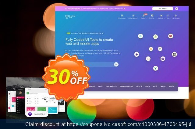 Material Dashboard Pro BS4 discount 30% OFF, 2020 American Independence Day sales